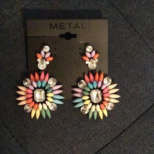 Multi-Color Pierced Earrings